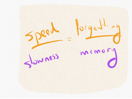 """""""There is a secret bond between slowness and memory, between speed and forgetting."""