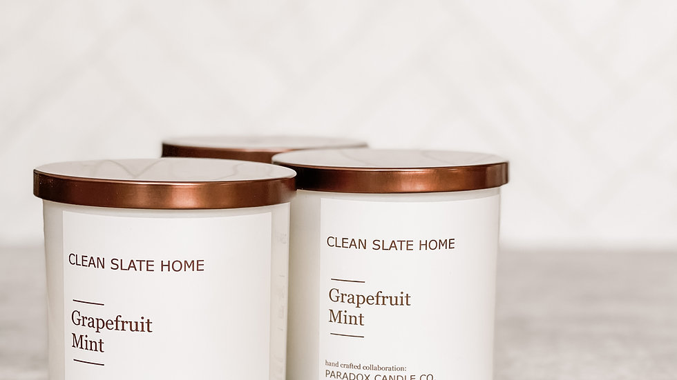 Clean Slate Home  - Soy Candle