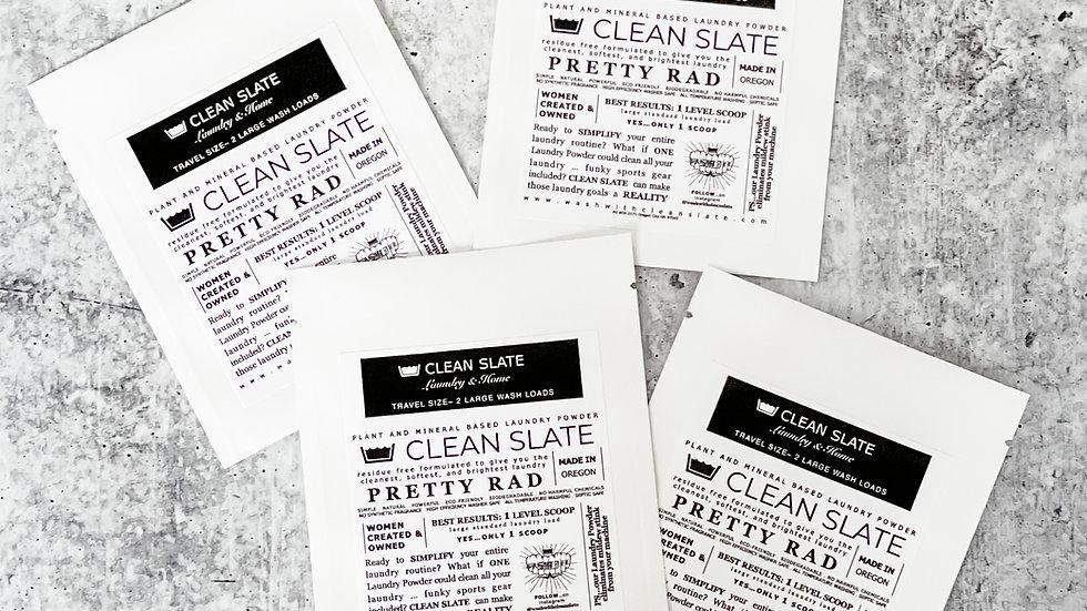 Laundry Powder TRAVEL SIZE  - 2 loads