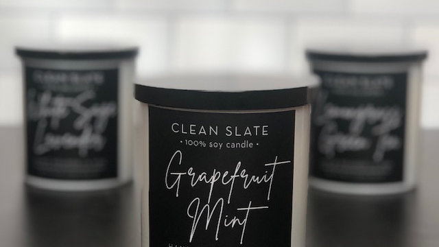 Clean Slate Soy Candle