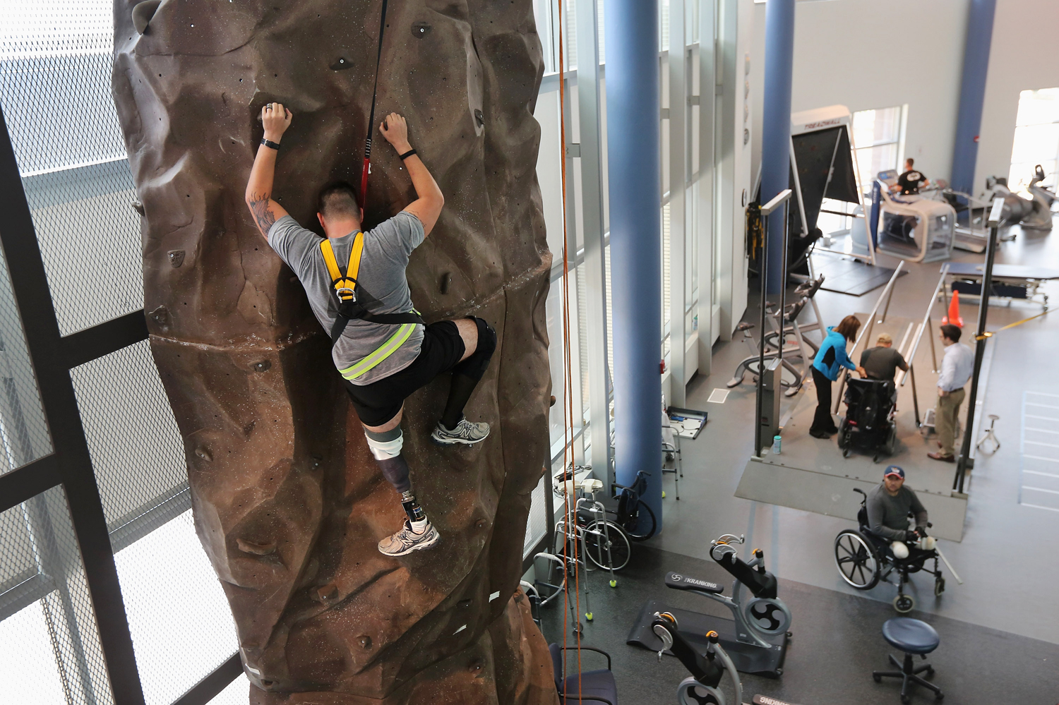 CFI rock wall