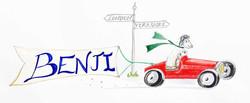 'Benji racing home'