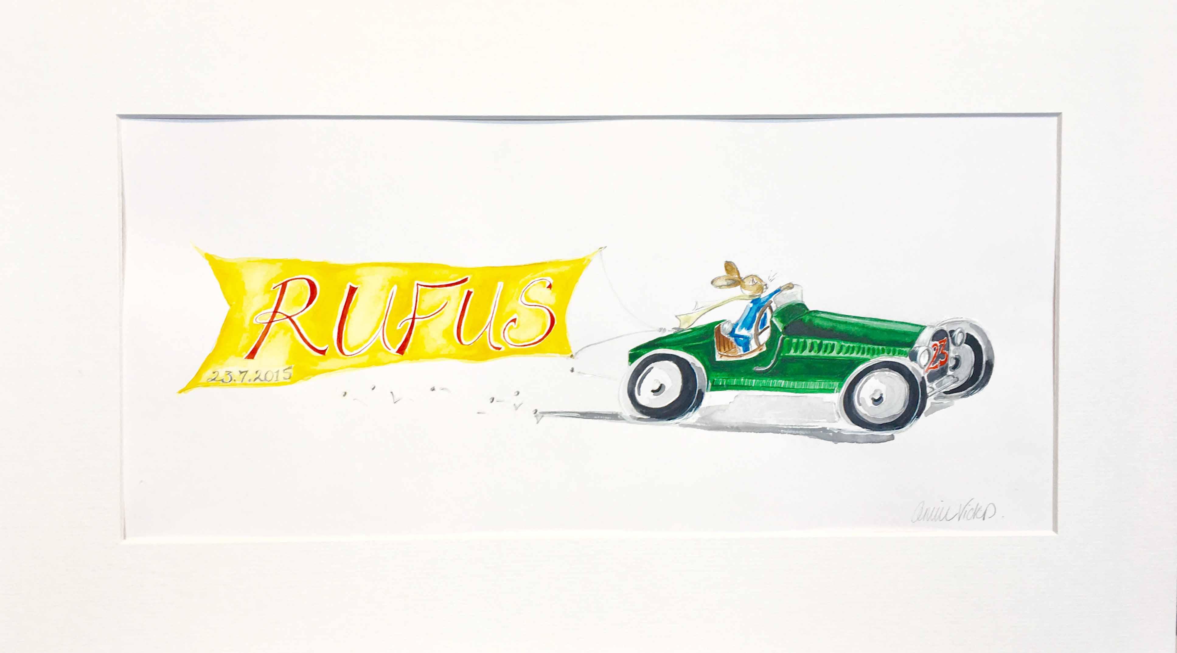 Rufus the Racing Rabbit!