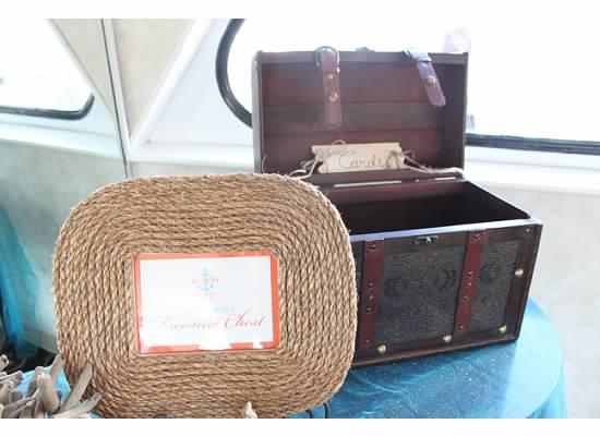 Vintage Lugauage Card Box