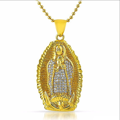 OUR LADY OF GUADALUPE CZ PENDANT