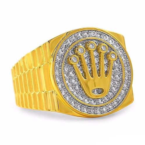 CROWN PRESIDENTIAL RING GOLD