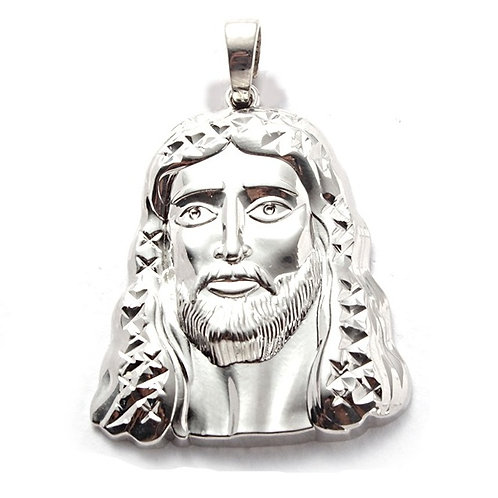 CLEAN LOOKING JESUS FACE PLATINUM