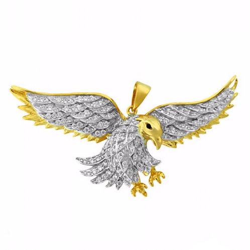 FLYING EAGLE PENDANT GOLD