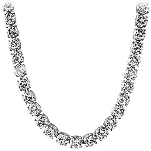 10MM VVS FLAWLESS ICED OUT HIGH POLISHED TENNIS CHAIN