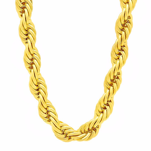 ROPE 12MM CHAIN GOLD