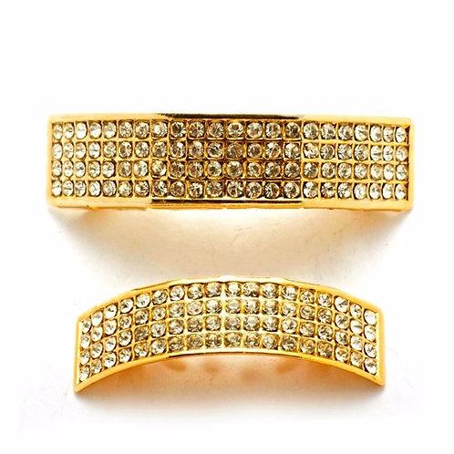 ICED OUT FLAT SET GOLD