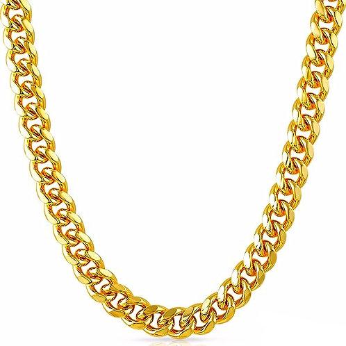 MIAMI CUBAN 8MM/10MM GOLD