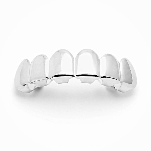 PLAIN TOP GRILLZ PLATINUM