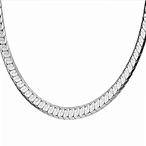 SCALE LINK 6MM CHAIN PLATINUM