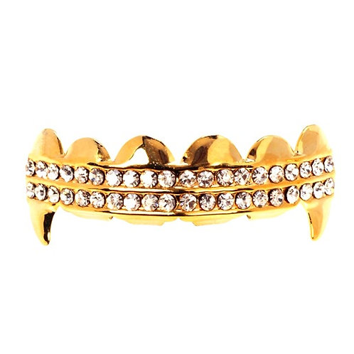 BLING VAMPIRE GRILLZ GOLD
