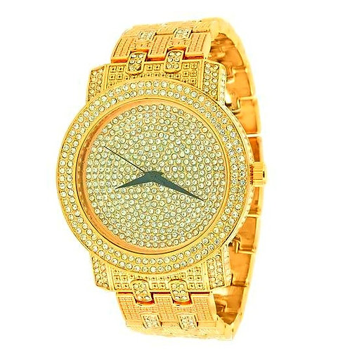 ICE OUT RODEO WATCH GOLD