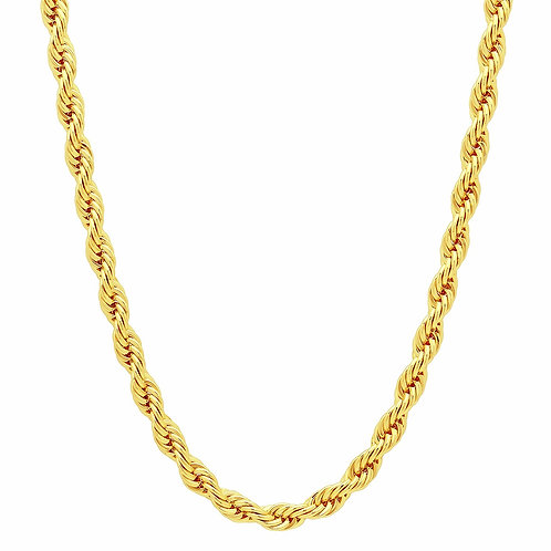 ROPE 4MM GOLD