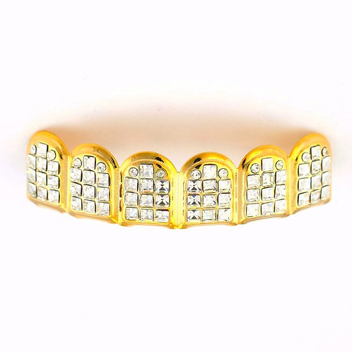 ICED OUT VIP TOP GRILLZ GOLD