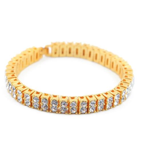 PHARAOH 2 ROW GOLD