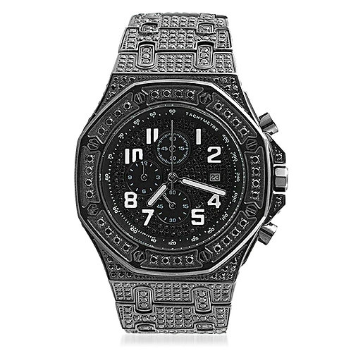 OCTAGON HIGH END BLACKED OUT WATCH