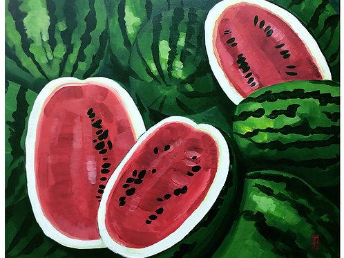 Farmer's Market Watermelons