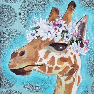 Crowned Giraffe