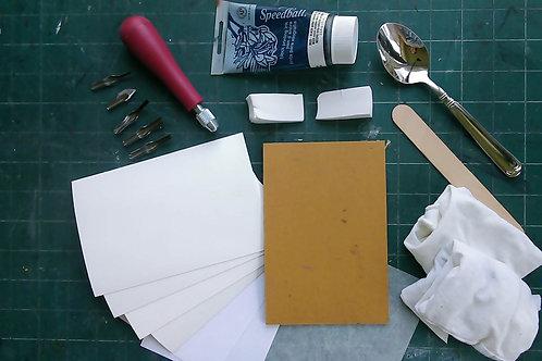 Beginner's Linocut Class w/ Kit
