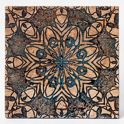 TCS07 – Full Carved Travertine Tile