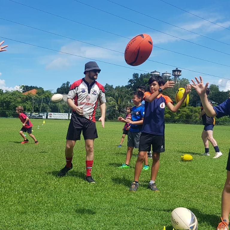 Junior Rugby Training