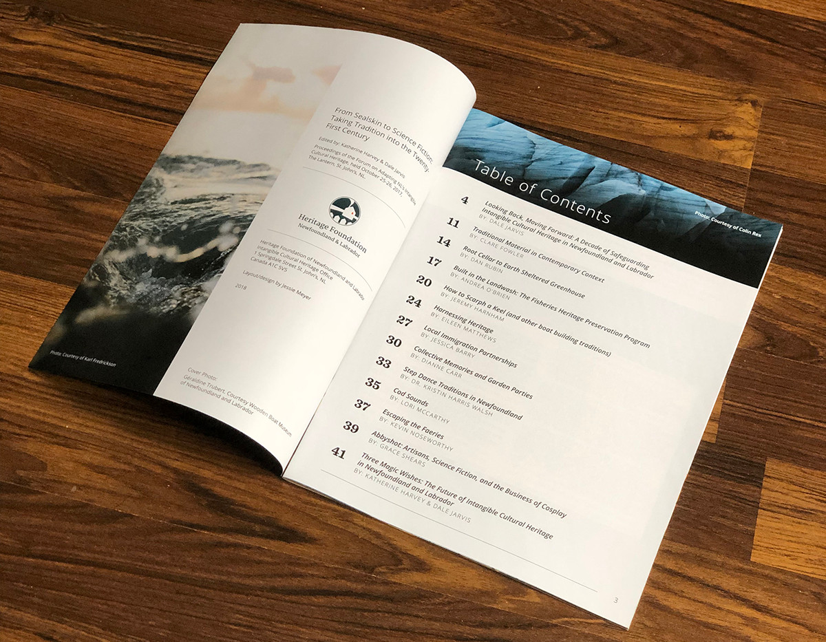 From Sealskin to Science Ficton Magazine Contents