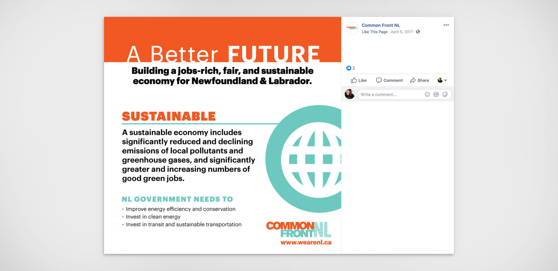 Common Front Social Media Shareable