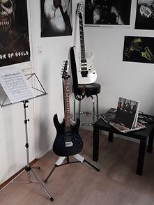 kape music quimper école de guitare steven lebert