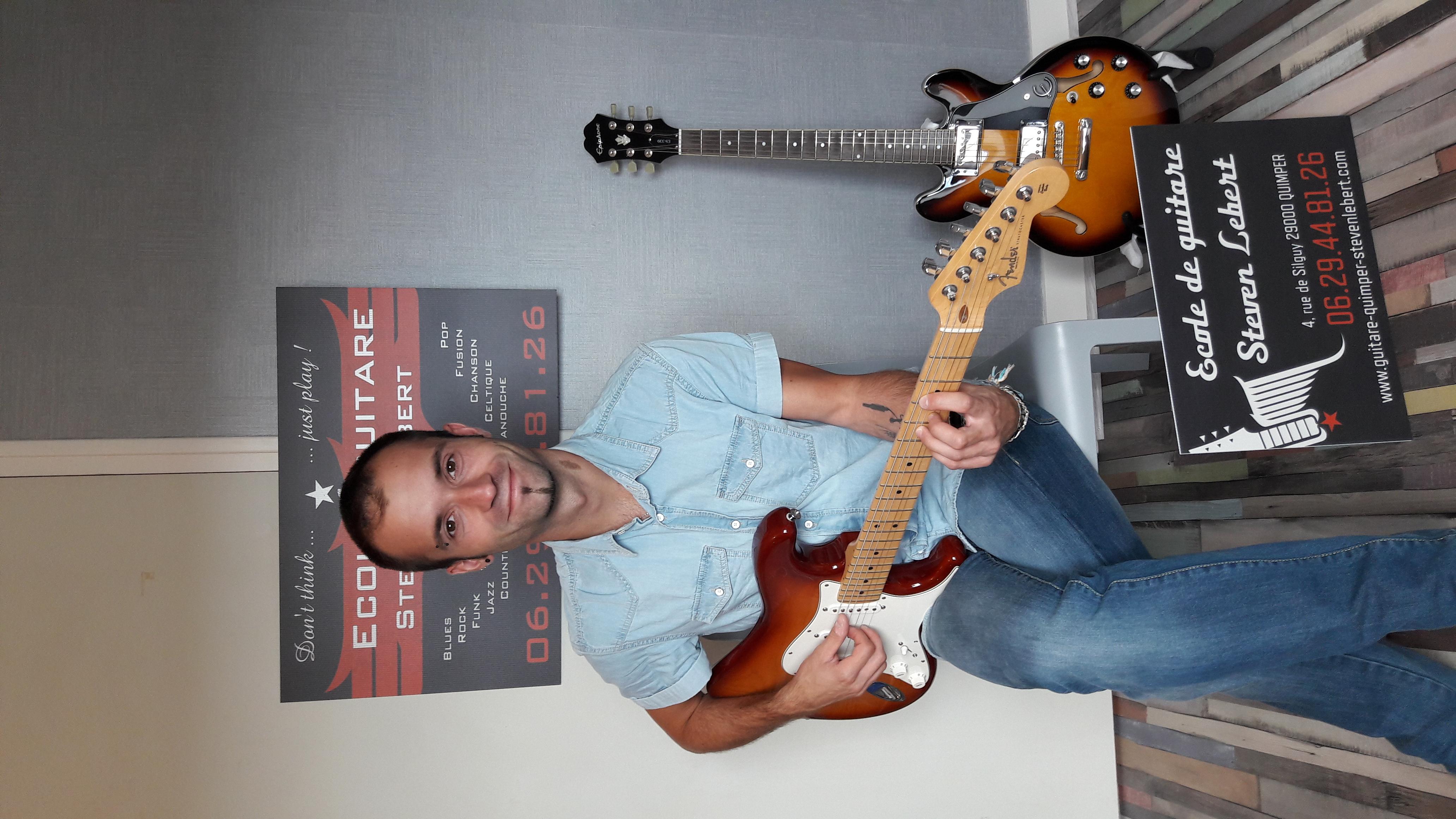 cours guitare quimper
