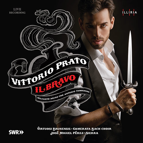 IL BRAVO - belcanto arias for Tamburini