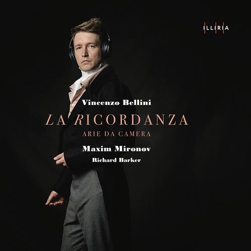 """Vincenzo Bellini """"La Ricordanza"""" CD"""