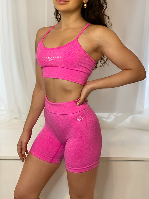 'AZALEA' Seamless Shorts Set