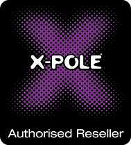 X-pole with X authorised reseller black.