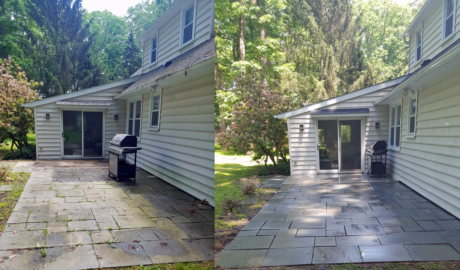 Stone Power Washing