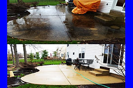 Patio Power Washing