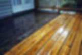 Wood Deck Power Washing