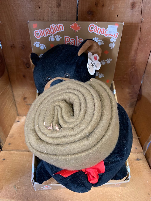 Plush Bear with Blanket