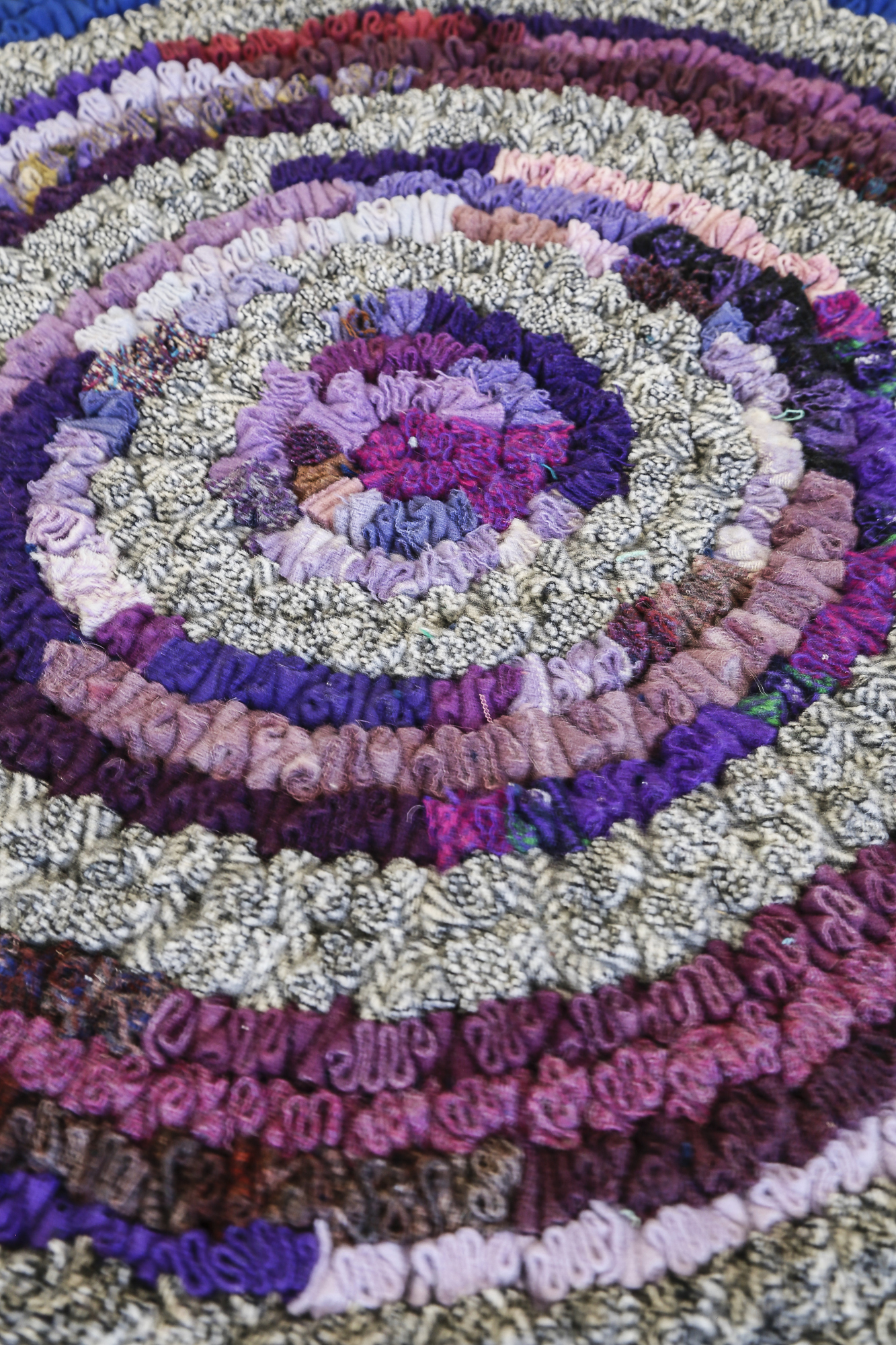 Standing Wool Rugs Confetti Rugs Shirred Rugs