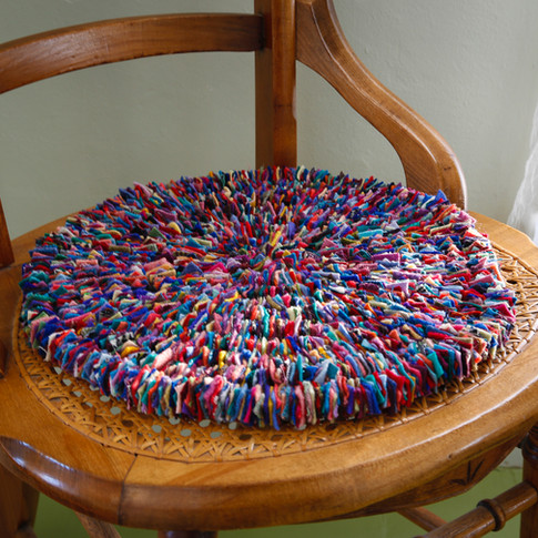 Postage Stamp Chair Pad