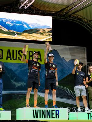 SIEG UND TOP TEN BEIM RACE AROUND AUSTRIA 2020!