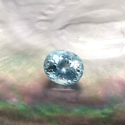 Aigue-marine 2.02 carats (Sri Lanka)