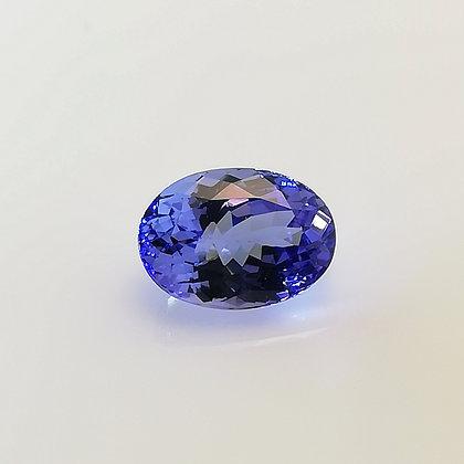 Tanzanite 3.42 carats (Tanzanie)