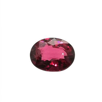 Grenat Rhodolite 2.53 carats (Nigeria)