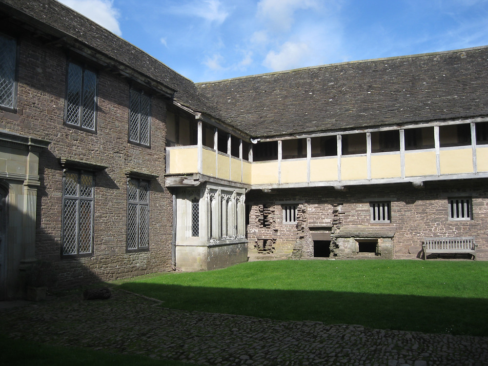Inside Tretower Court, Erme Lander