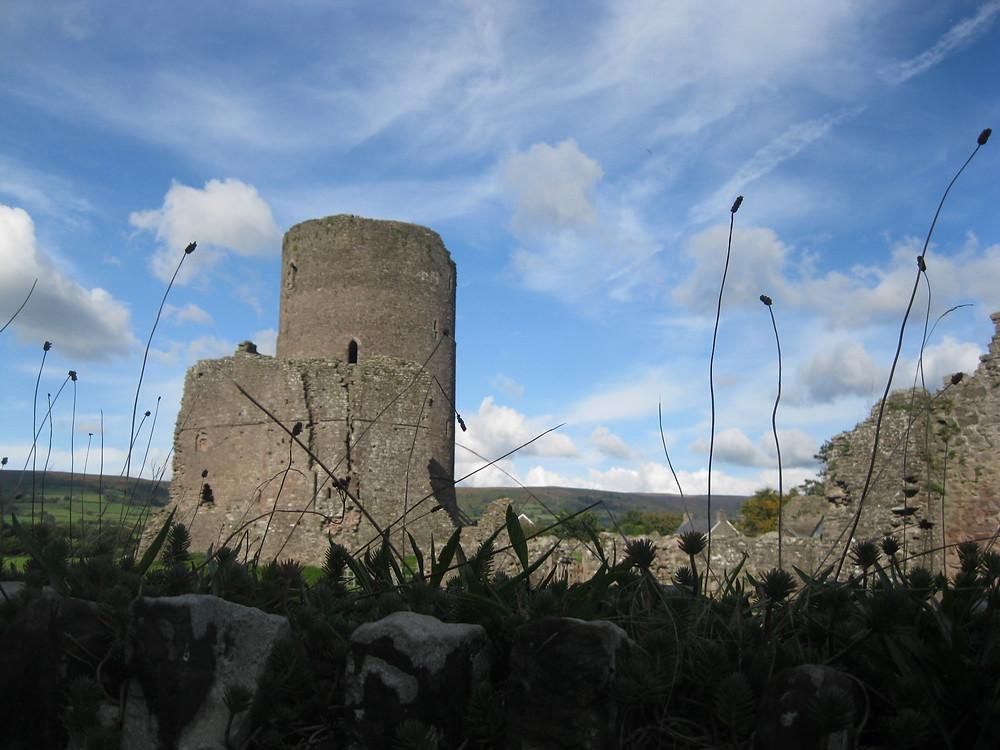 Tretower Castle, Erme Lander