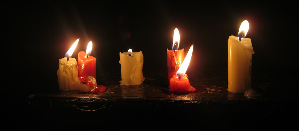 Candles in the dark, Erme Lander